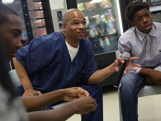 Darryl Woods, 44 who has been locked up for 26 years