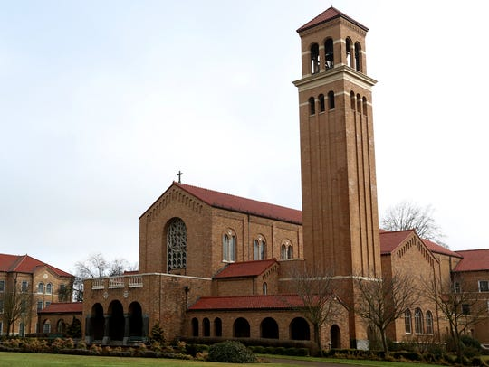 The Mt. Angel Abbey Church. Photographed on Wednesday,