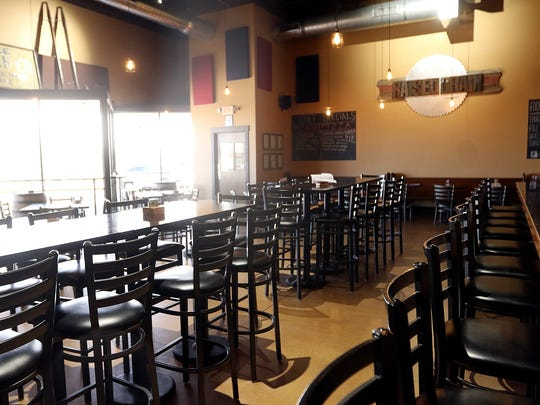 A large and bright room welcomes guests at Raised Grain in Waukesha. The company is looking to expand, and include a restaurant, at a new location south of its current operation.