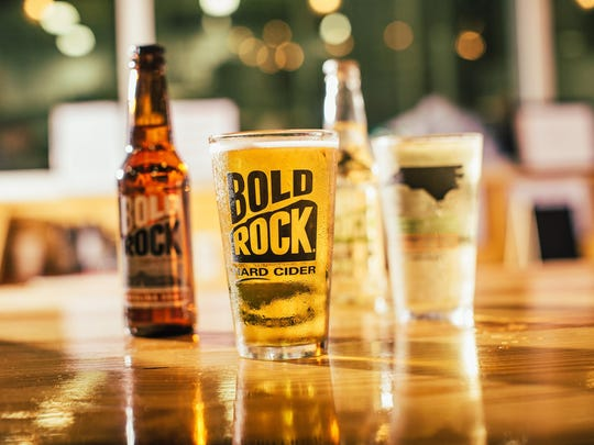 Bold Rock is one of the many tasty hard ciders you can find in Hendersonville, North Carolina.