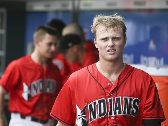 Austin Meadows began the year ranked among baseball's top prospects.