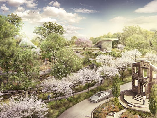 Waterfront Botanical Gardens as it will look.