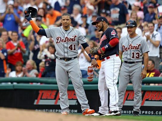 MLB: Detroit Tigers at Cleveland Indians