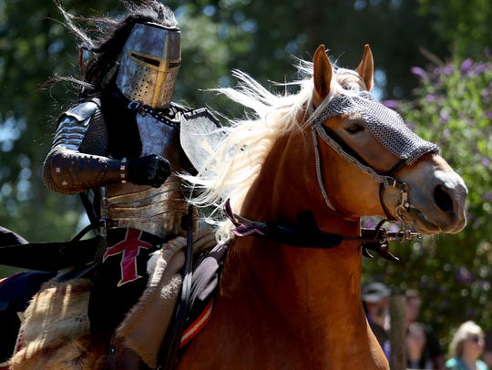 """Experience life as an Elizabethan Village Folk at this interactive event set in the era of """"Good Queen Bess"""" (Elizabeth I,1558-1603) through period demonstrations, entertainment, food and performances at the Canterbury Renaissance Faire July 21-22 and 28-29."""