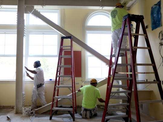 McKinley Elementary School is under construction this