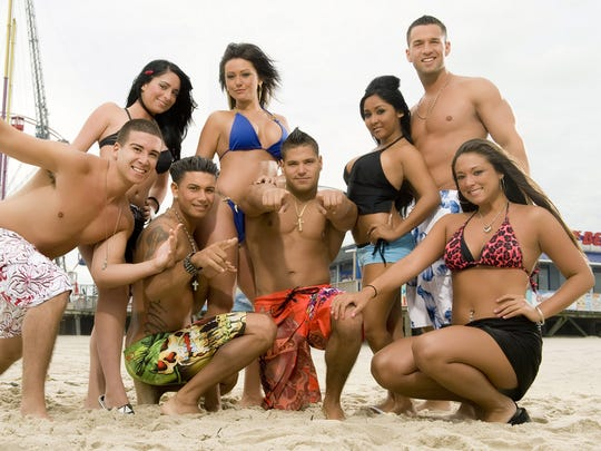 In this publicity image released by MTV, the cast of