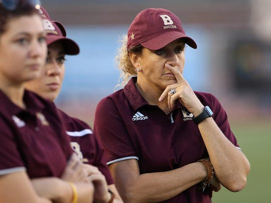 Brebeuf Jesuit coach Angela Berry White has turned the Braves into a perennial power.