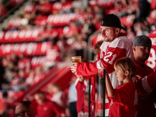 Red Wings fans haven't enjoyed a playoff win since 2016 - the team's lone playoff win that year.