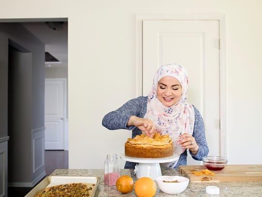 Amanda Saab of New Boston makes Baklava Cheesecake
