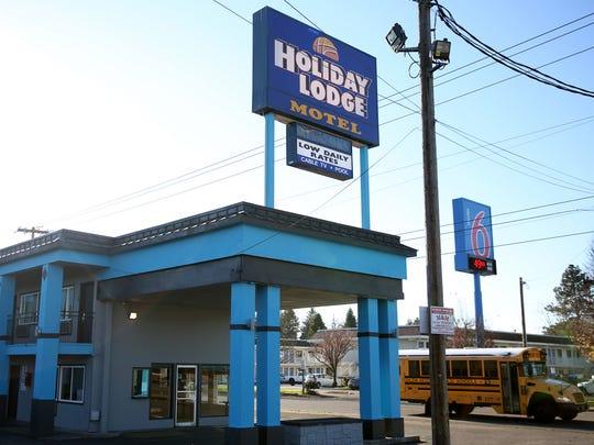 The Holiday Lodge Motel on Hawthorne Ave. NE in Salem