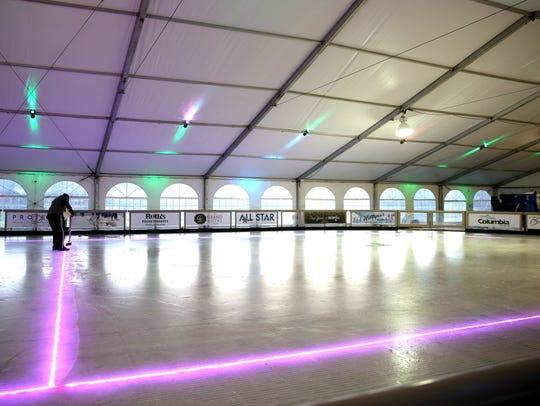 Salem On Ice, a seasonal ice rink, at Riverfront Park