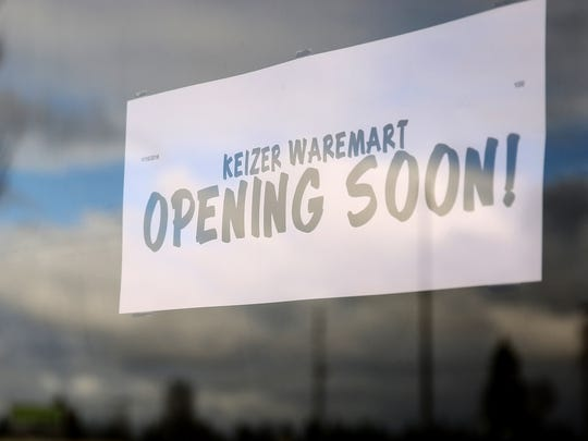 Waremart by Winco is scheduled to open Feb. 1. Photographed in Keizer on Monday, Jan. 22, 2018.