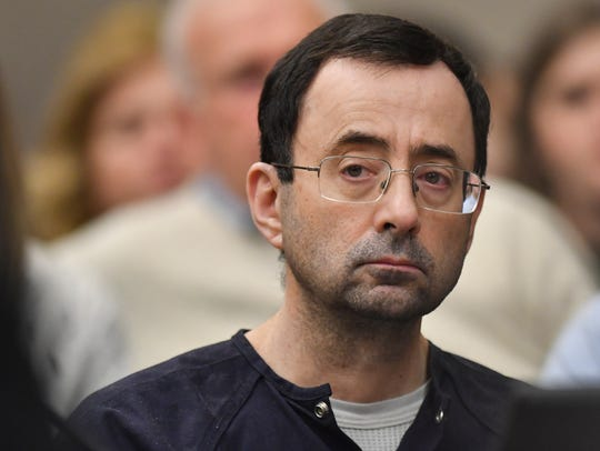 Larry Nassar was sentenced to 40 to 175 years in prison.