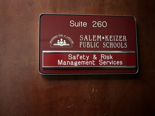 The Safety and Risk Management Services office for Salem-Keizer Public Schools in Salem on Thursday, Feb. 15, 2018.