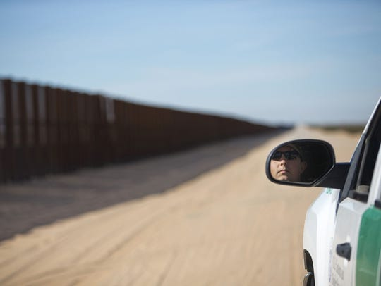 """DHS officials say that they planned for a total of 100 miles of new barriers, mostly in one of the """"high-priority area"""" of Rio Grande Valley."""