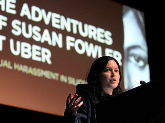 Susan Fowler, the former Uber engineer whose searing
