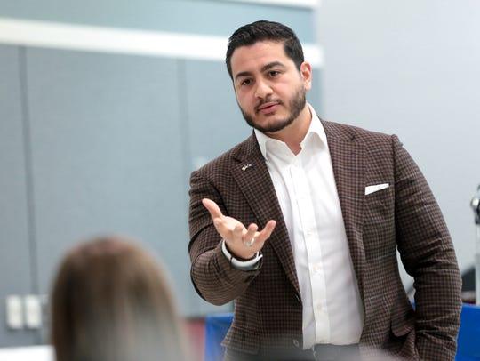 Michigan Democratic Gubernatorial candidate Abdul El-Sayed