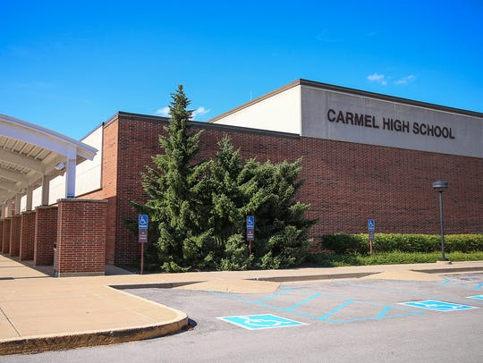 Carmel High School in Carmel, Indiana.