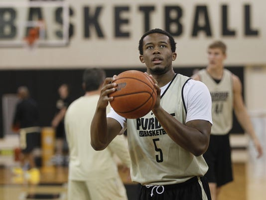 LAF Purdue men's basketball Caleb Swanigan teammates
