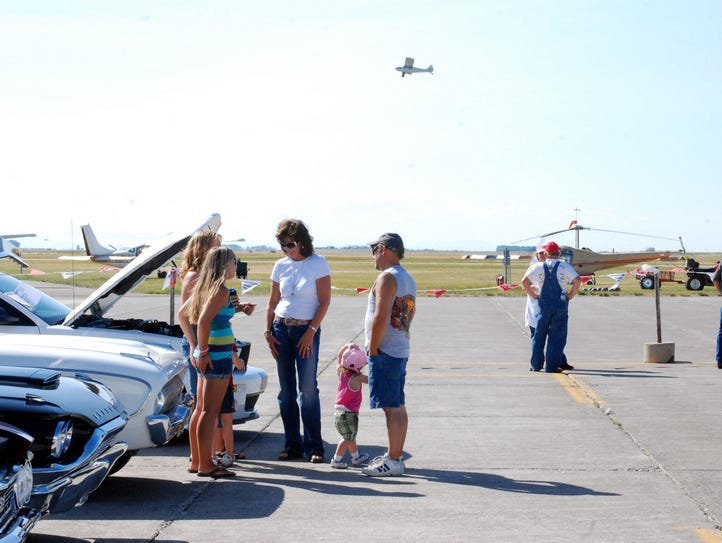 The Montana Fun Weekend includes a car show, fly-in,