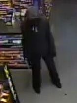 State police are looking for this man who they say robbed a Dollar General store in Ellendale.