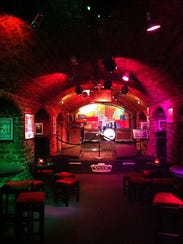 This photo shows the interior of the real Cavern Club