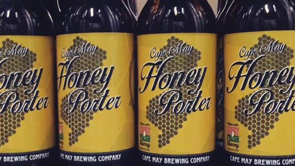 It takes a lot of South Jersey honey to make Honey Porter beer.