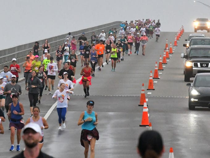 The 2019 Publix Florida Marathon, Half Marathon, and
