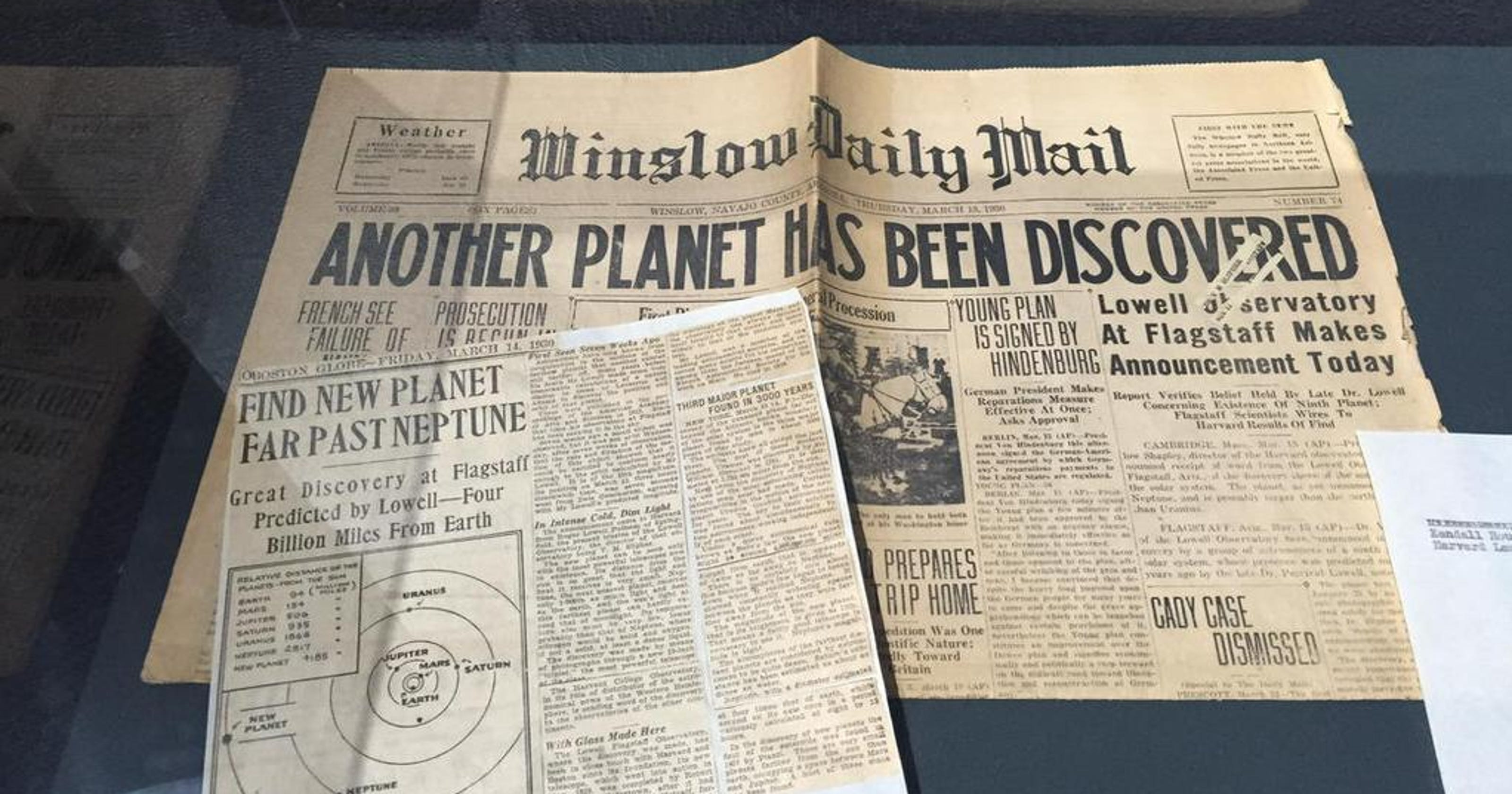 Discovery Of Pluto: In Flagstaff, Where Pluto Was Discovered, Space Signal