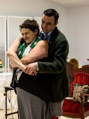 Michelle Weiser and Ian Short who play Maria and Tito