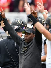 Vanderbilt coach Derek Mason