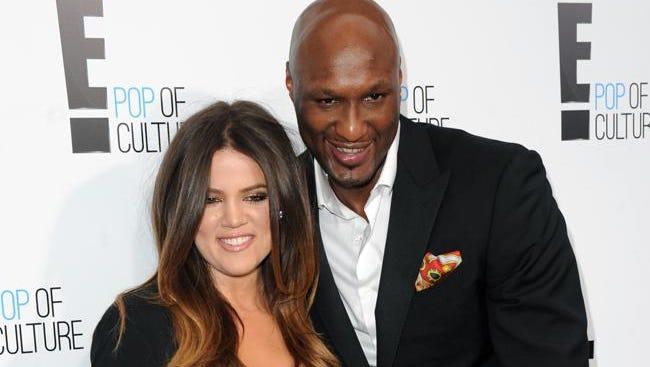 Khloé Kardashian and estranged husband Lamar Odom