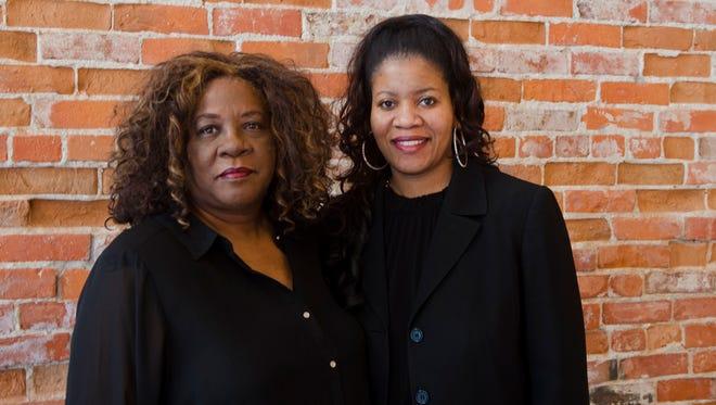 Debra McNair, owner of LaBella's Wedding Chapel, and her daughter Tamara Hicks.