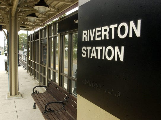 A view of the Riverton Light Rail station.