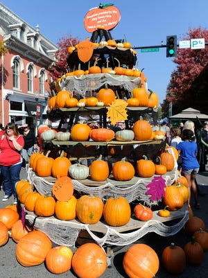The 31st annual Pumpkinfest in downtown Franklin on Sat. Oct. 25, 2014.