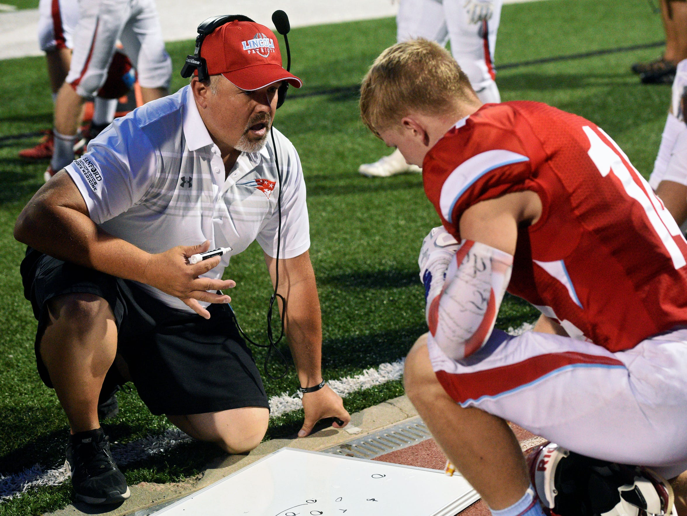 Lincoln football coach Jared Fredenburg stresses that new rules and regulations have been added in an effort to make the game safer.