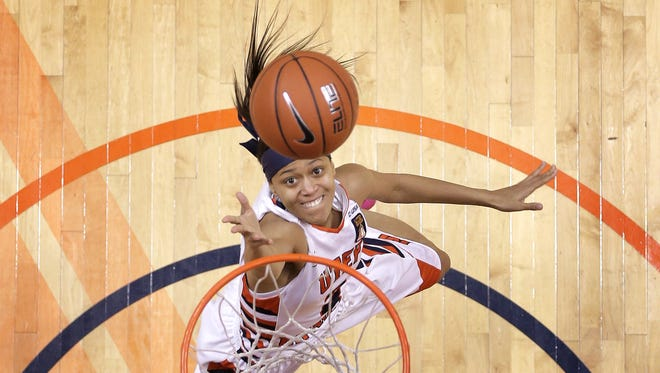 Miner guard Cameasha Turner has excelled at UTEP after overcoming challenges in her past. Turner has a 4.0 GPA and is a leader on the basketball team.