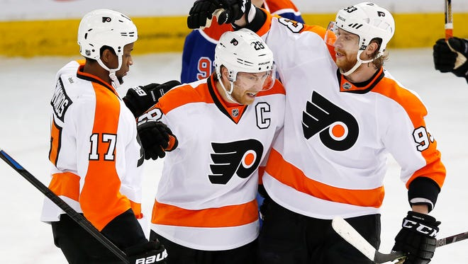 Plenty of the Flyers' Canadian  players will celebrate Thanksgiving again Thursday.