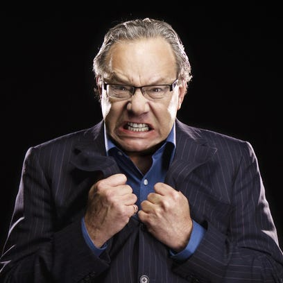 """""""I'll never run out of material,"""" Lewis Black said."""