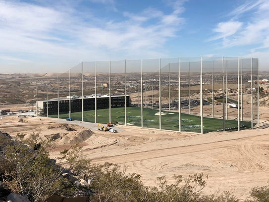 Topgolf El Paso opened Friday morning on the West Side,