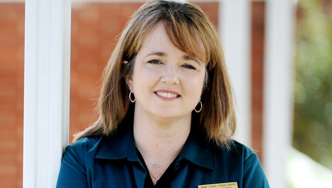 Interim Superintendent Tess Smith is a candidate for Lamar County School District superintendent.