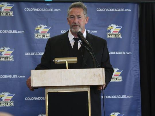 Chris Stewart announced his retirement as Colorado