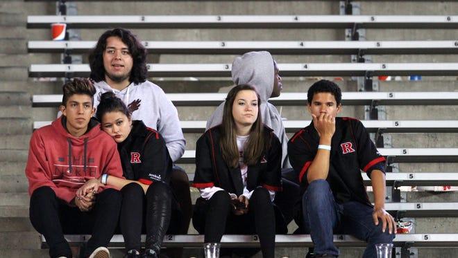 Rutgers football battles Ohio State, Saturday, October 24, 2015, in Piscataway.
