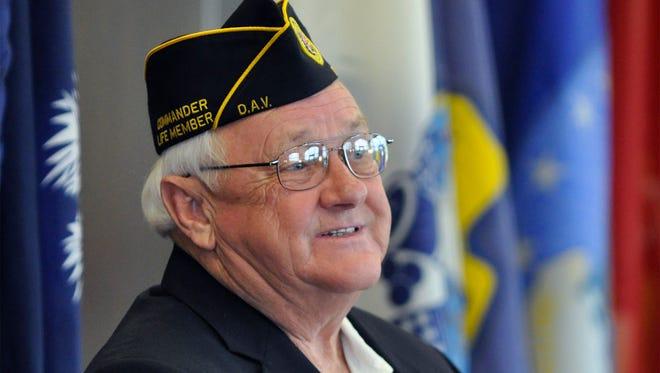 Preston Johnson served as senior vice commander of the state's Disabled American Veterans organization.