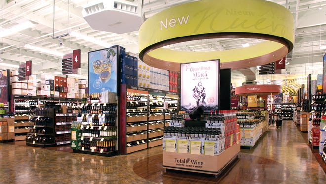 Total Wine & More hopes to open eight to 10 locations in Tennessee, including one in Nashville and one in Cool Springs this year.