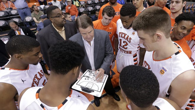 The UTEP men's basketball team, under the direction of coach Tim Floyd, take the floor Wednesday in the first round of the Conference USA tournament in Birmingham, Ala.