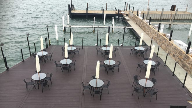 The Waterfront restaurant and lounge opens May 2 in Wyandotte. They'll have patio seating for forty and top deck lounge seating as well.