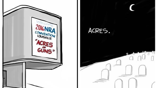 """Acres of Guns"""