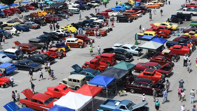 The annual Street Rods Nationals East is back! Vehicles will rumble into the York Expo Center grounds June 4-6.