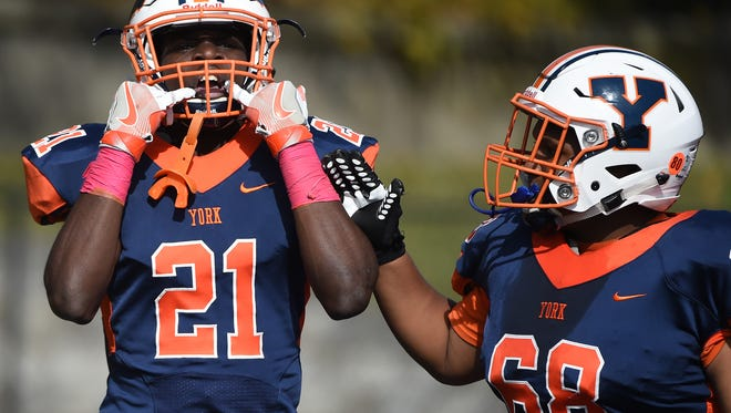 William Penn has some talented playmakers, such as running back Khalid Dorsey (No. 21).